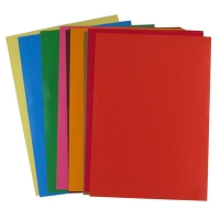 Бумага цветная А4 10л самоклейка 9-87 (24617)