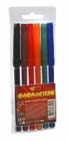 Фломастеры 6 цветов TIKI 52708-TK