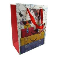 Пакет подарочный средний Собаки 24*8*18см 8202 1-98 (21235)