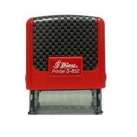 Оснастка для штампов красная 14*38мм S-852-TR-003