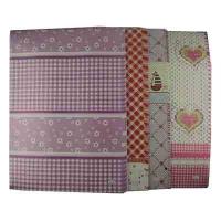 Бумага упаковочная ассорти в упаковке 50 шт 10-508 (22014)