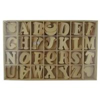 Игровой набор Буквы на липучках 41412-UN
