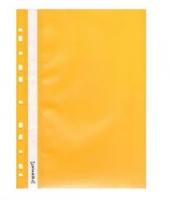 Скоросшиватель А4 Format апельсин с перфорацией желтый F38504-05