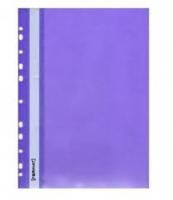 Скоросшиватель А4 Format апельсин с перфорацией фиолетовый  F38504-12
