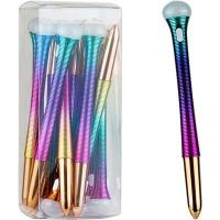 Ручка гелевая синяя свет фонарь NoName 008А