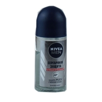 Шариковый дезодорант для мужчин Nivea Серебряная защита 50 мл
