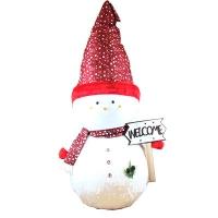 Новогодняя фигура Снеговик 120см микс 91975-PN
