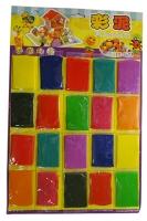 Пластилин 20цв на планшете  18-396, 6-151 (2584)
