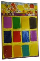 Пластилин 12цв на планшете 18-397  3-62