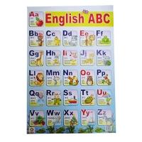 Плакат А2 Английская азбука Зірка 47939
