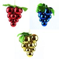 Новогодняя игрушка Виноград 13см пластик 7-20 (3-6140)
