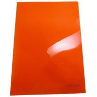 Папка уголок А4 плотная красная Е31153-03