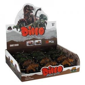 Динозавр на мотоцикле арт 958 9-539 (2647)