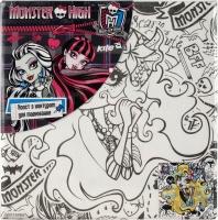 Раскраска холст с контуром Monster High 20*20 MH14-216K
