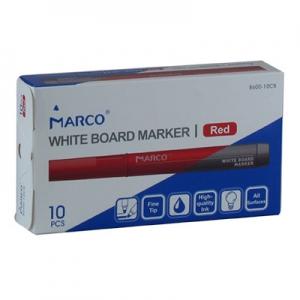 Маркер для досок красный Board red 8610-10CB Marco