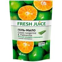 Мыло жидкое Fresh Juise Green Tangerine&Palmarosa 460мл дой-пак 7200