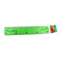 Линейка пластиковая 20см мягкая неоновая ВС-0020  1-453  3-307 (24341)