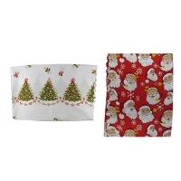 Рождественская скатерть 120*150см полиестер 5-54 (6326)
