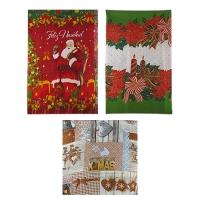 Рождественская скатерть 150*180см ткань 5-55 (6326)