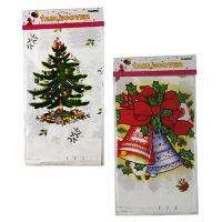 Рождественская скатерть 108*175см клеенка  5-56 (6326)