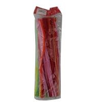 Набор для творчества Пушистые палочки цветные (упак 100 шт)  5-82 (6113)