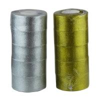 Лента для декора 4см золото,серебро цена за упак (5шт)5-86 (6113)