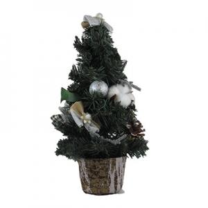 Искусственная елка зеленая 35см настольная 5-90 (6261)