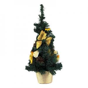 Искусственная елка зеленая 50см настольная 5-93 (6261)