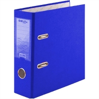 Папка регистратор А5 Delta by Axent 75мм синяя собранная D1718-02C