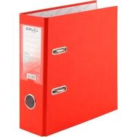 Папка регистратор А5 Delta by Axent 75мм красная собранная D1718-06C