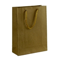 Пакет бумажный эко-крафт 20*14,5*5,5  5-322 (10353)