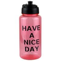 Бутылка для воды пластик прозрачная  5-590 (16334)