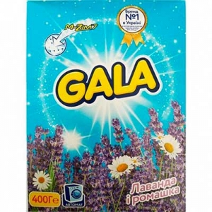 Порошок Gala автомат Лаванда и Ромашка для белого 400 г 0886
