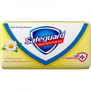 Мыло туалетное Safeguard антибактериальное Ромашка 90 г 5712