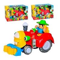 Веселый тракторист №213