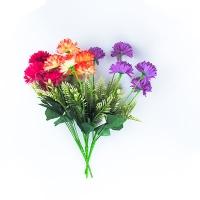 Цветы искусственные Букет Астры 6шт 10-127 (113)