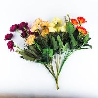 Цветы искусственные Букет Роз маленьких микс 10-128 (113)