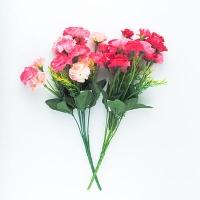 Цветы искусственные Букет Гвоздик мелких 10-130 (113)