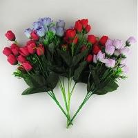 Цветы искусственные Букет Роз мини 10-133 (113)