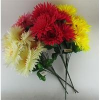 Цветы искусственные Букет Георгины 7шт 10-135 (113)