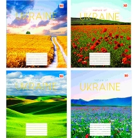 Тетрадь 24л клетка NATURE of Ukraine YES 763080