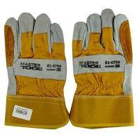 """Перчатки комбинированные из замши и ткани усиленная ладонь 10,5"""" Master Tool 83-0706"""