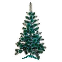 Искусственная елка Королева с белыми кончиками 2,5м