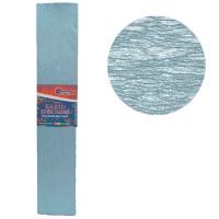 Гофрированная бумага 30% перламутовый голубой 50*200см 26г/м2 80107KRPL