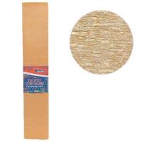 Гофрированная бумага 30% перламутовый бронзовый 50*200см 26г/м2 80106KRPL