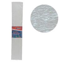 Гофрированная бумага 30% перламутовый белый 50*200см 26г/м2 80101KRPL