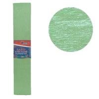 Гофрированная бумага 30% перламутовый зеленый 50*200см 26г/м2 80102KRPL