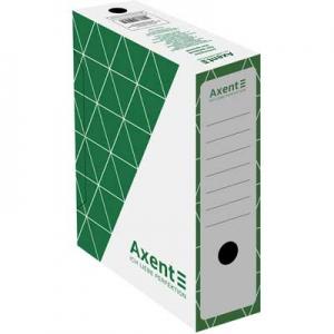 Папка бокс архивный зеленый 100м Axent 1732-04-A