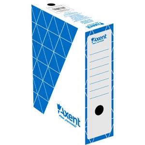 Папка бокс архивный синий 100м Axent 1732-02-A