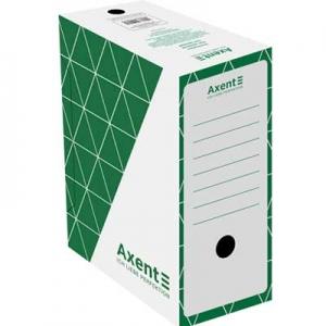 Папка бокс архивный зеленый 150м Axent 1733-04-A